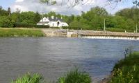 La Maison éclusière et le barrage