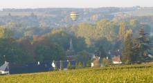 Vue des plateaux de Civray de Touraine