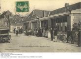 Le bourg de CIVRAY - Route de Tours