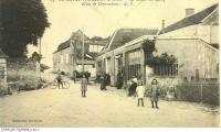 Le bourg de CIVRAY